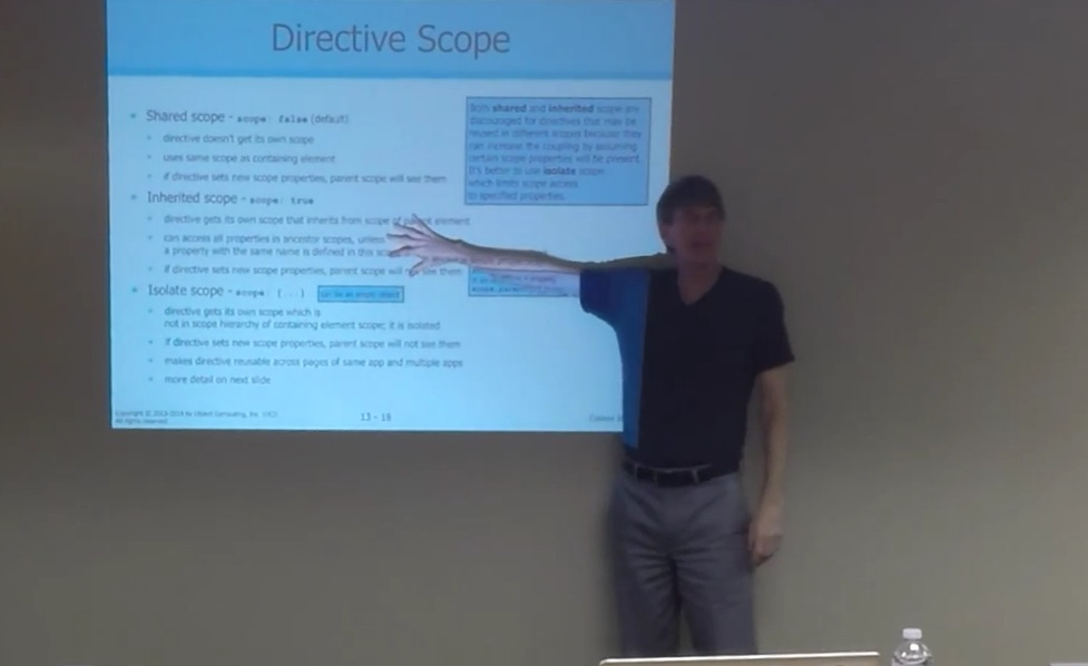 Custom Directives in AngularJS