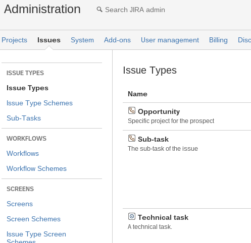 Custom Issue Types, A Real Asset in JIRA