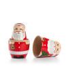 Opened Santa Doll